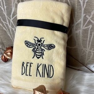 Rae Dunn Bee Kind Hans Towels! You get TWO!